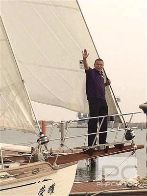 温州商人要驾无动力帆船 周游世界下月三亚出发