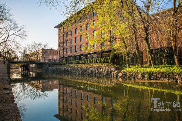 位于C&O运河畔的奢华酒店卡佩莱酒店,将被重新命名为瑰丽华盛顿特区酒店。(网络图片)