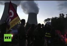 法国多间核电厂工人响应总工会号召将罢工一天【图】