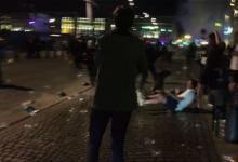 英国与法国球迷昨晚在马赛爆发冲突多人受伤【图】
