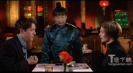 在《黑帮女婿》里,古怪的中餐馆老板娘搞砸了一场美好的求婚。