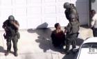 洛杉矶警察抓非裔小偷 反遭其开枪打死(组图)