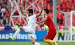 中国国足0:1负于伊朗队 出线机会渺茫