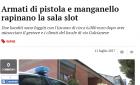Prato:大白天华人老虎厅遭2名劫匪持枪打劫,抢走6千欧元!