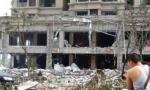济南一小区爆炸 饭店四周被炸空 (高清组图)