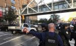 纽约曼哈顿发生汽车撞人恐怖袭击事件 已致8死11伤